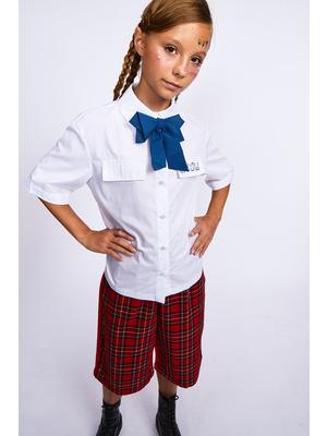 Галстук-бабочка для девочки с регулируемой застежкой