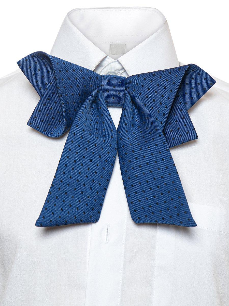 Галстук-бабочка для девочки с регулируемой застежкой, цвет: синий