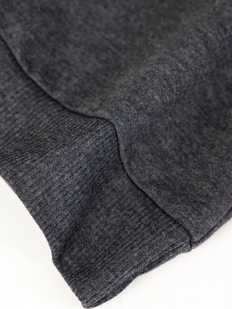 Джемпер обманка для мальчика, цвет: серый