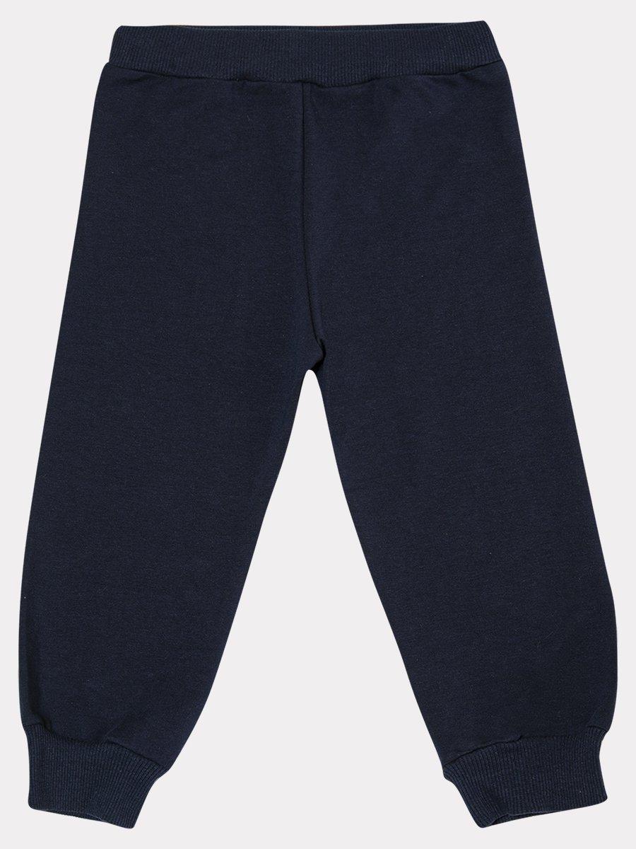 Комплект: толстовка и штанишки со средней посадкой, цвет: неон розовый