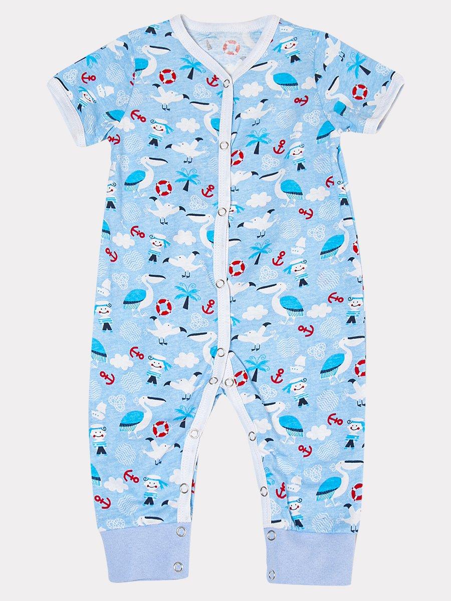 Комбинезон для мальчика, цвет: голубой
