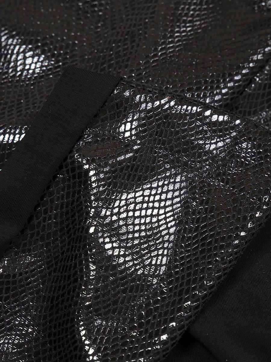 Лосины для девочки, цвет: черный