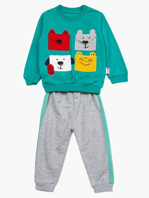 Комплект для мальчика: свитшот и штанишки