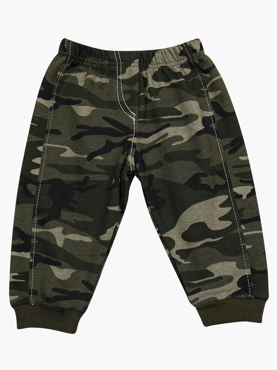 Комплект для мальчика: лонгслив, жилет и штанишки, цвет: хаки