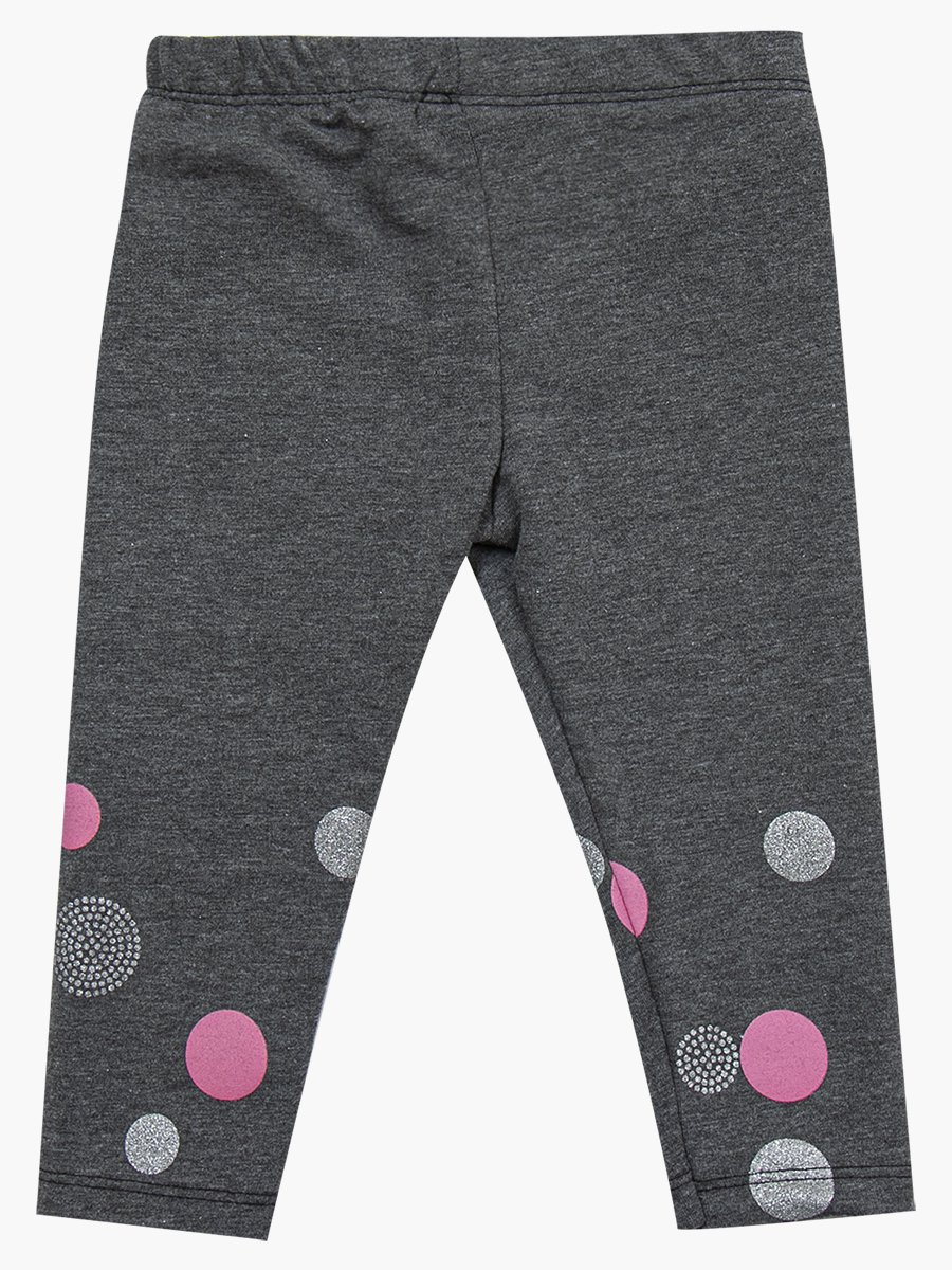 Комплект для девочки: туника и лосины, цвет: брусничный