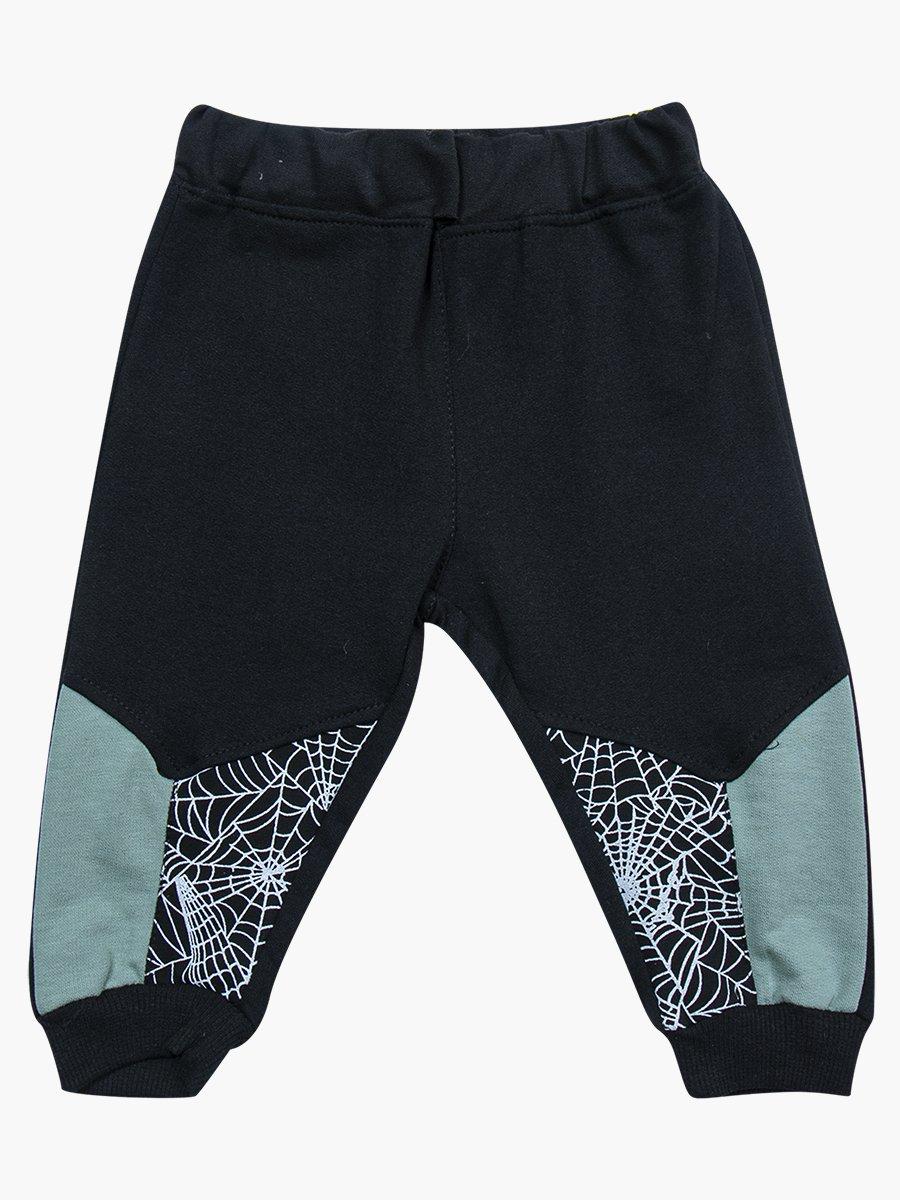 Комплект для мальчика: лонгслив, толстовка и штанишки, цвет: оливковый