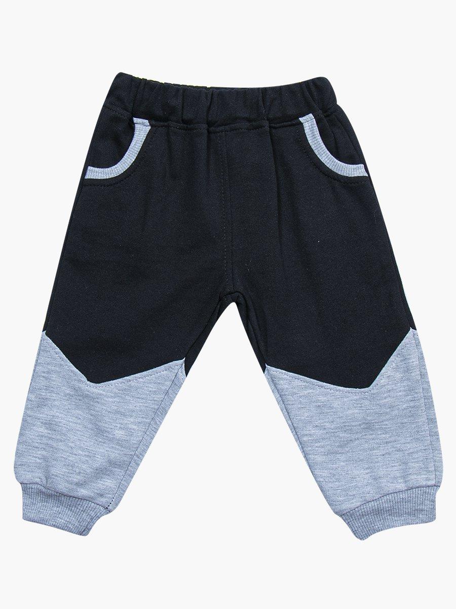 Комплект для мальчика: лонгслив, толстовка и штанишки, цвет: серый меланж