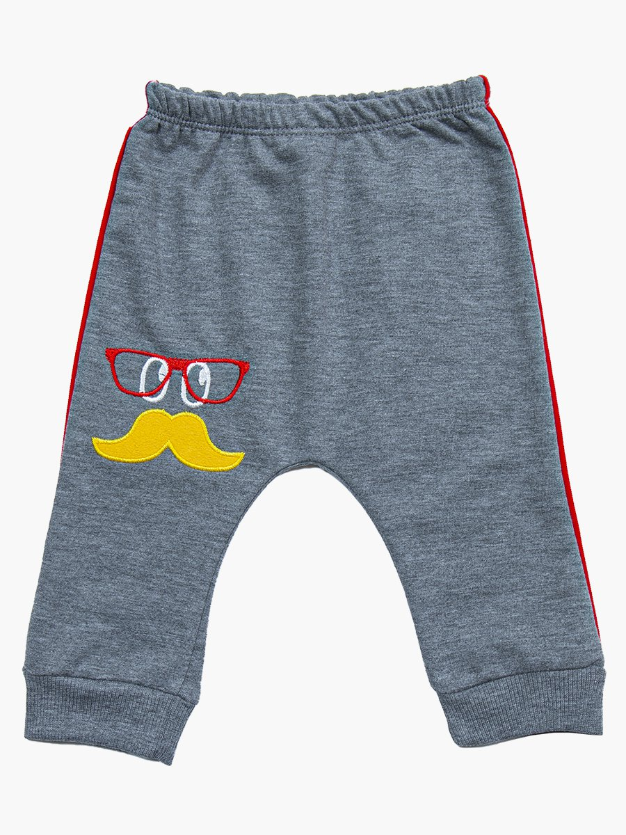 Комплект для мальчика: лонгслив, штанишки и жилет, цвет: бордовый