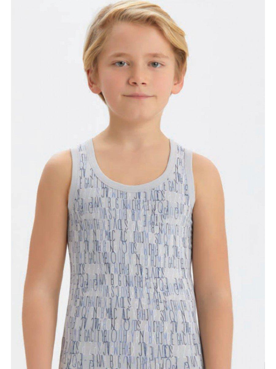 Майка для мальчика, цвет: мультиколор