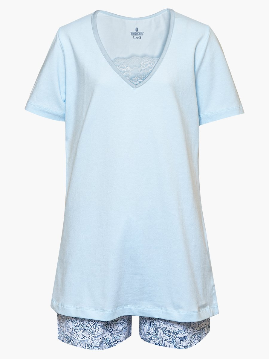 Пижама женская, цвет: синий