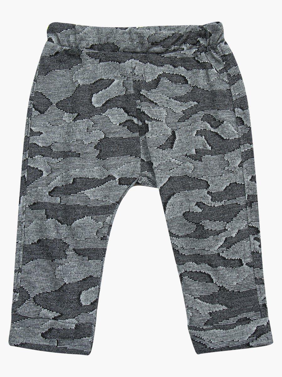 Комплект для мальчика: лонгслив, штанишки и болоньевый жилет на синтепоне, цвет: синий