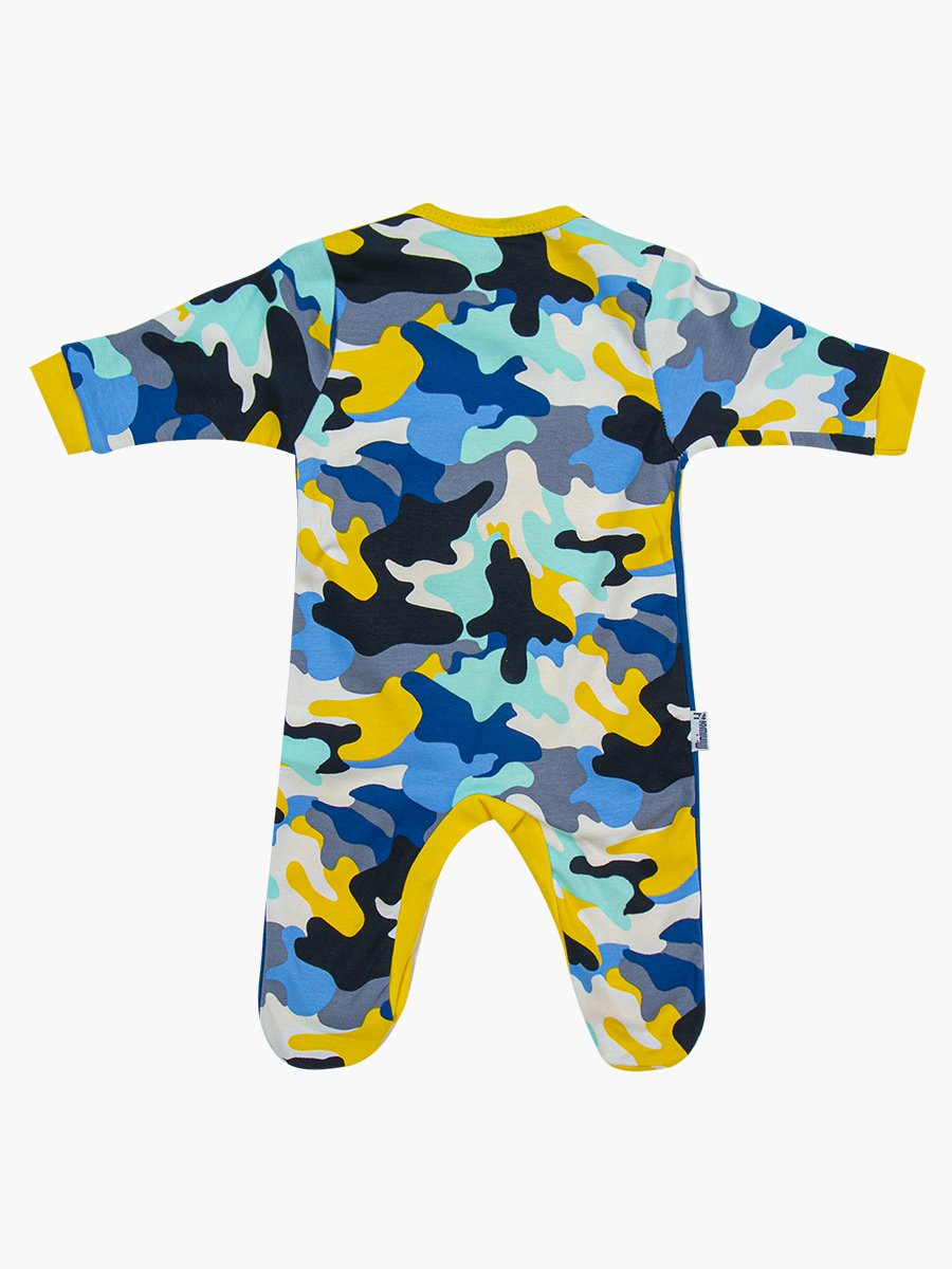 Комбинезон в комплекте с шапочкой для мальчика, цвет: желтый