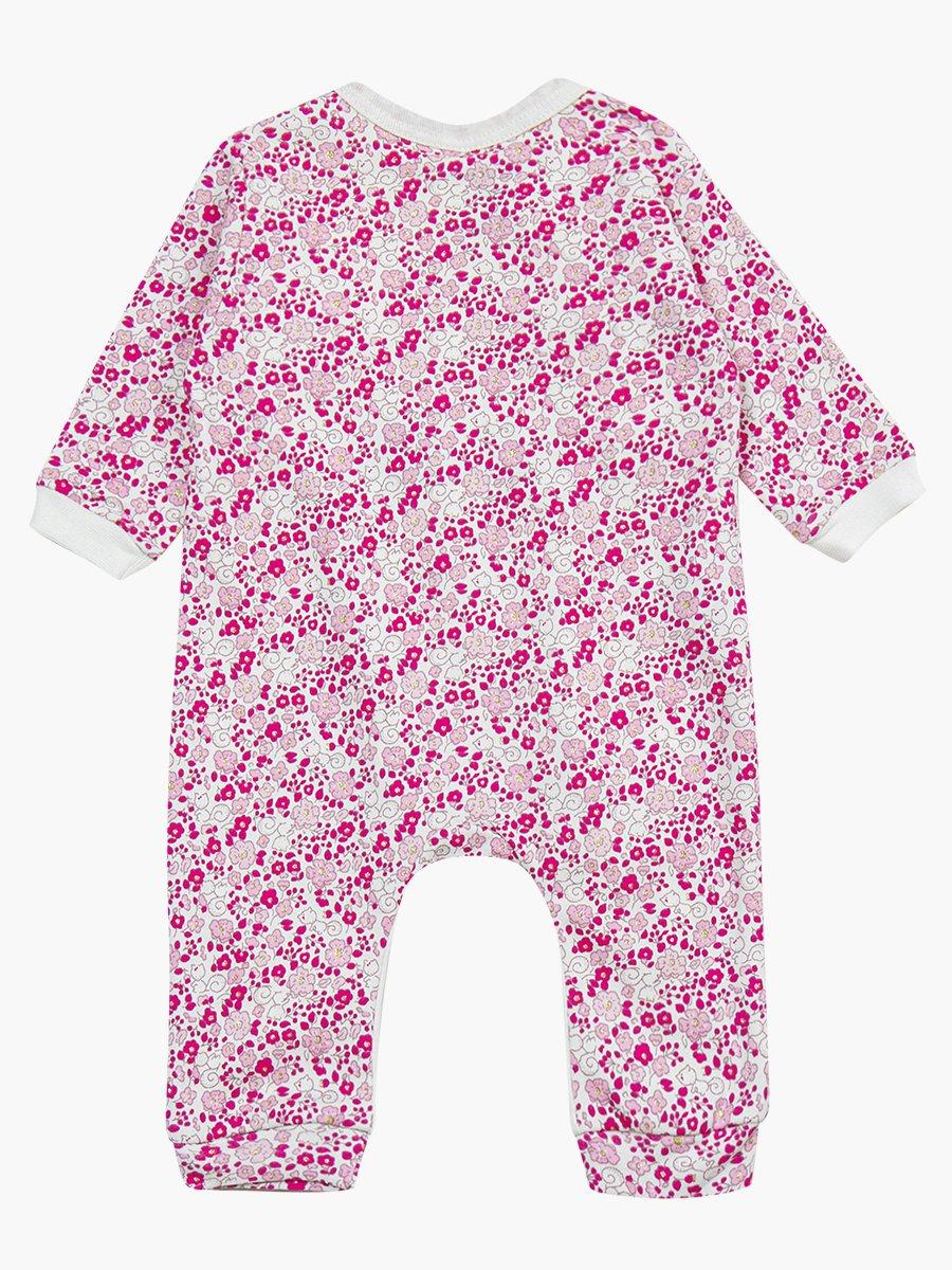 Комбинезон в комплекте с шапочкой для девочки, цвет: розовый
