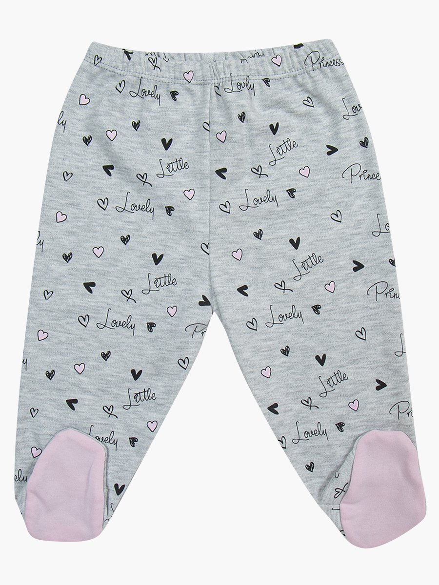 Комплект для девочки: распашонка, ползунки и шапочка, цвет: светло-розовый