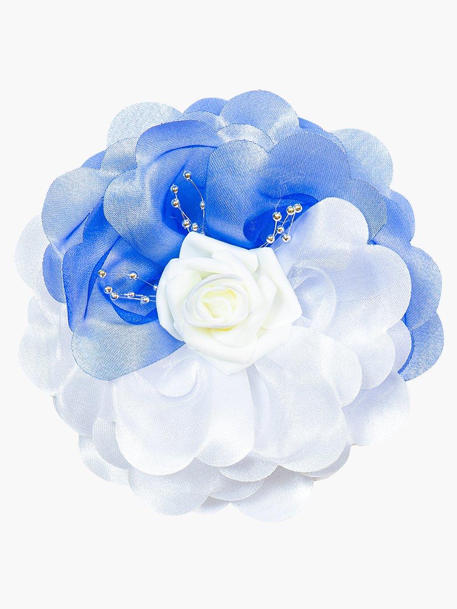 Бант школьный, цвет: голубой
