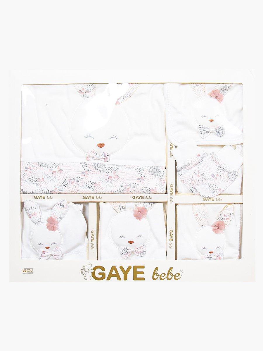 Набор в коробке для девочки, цвет: белый