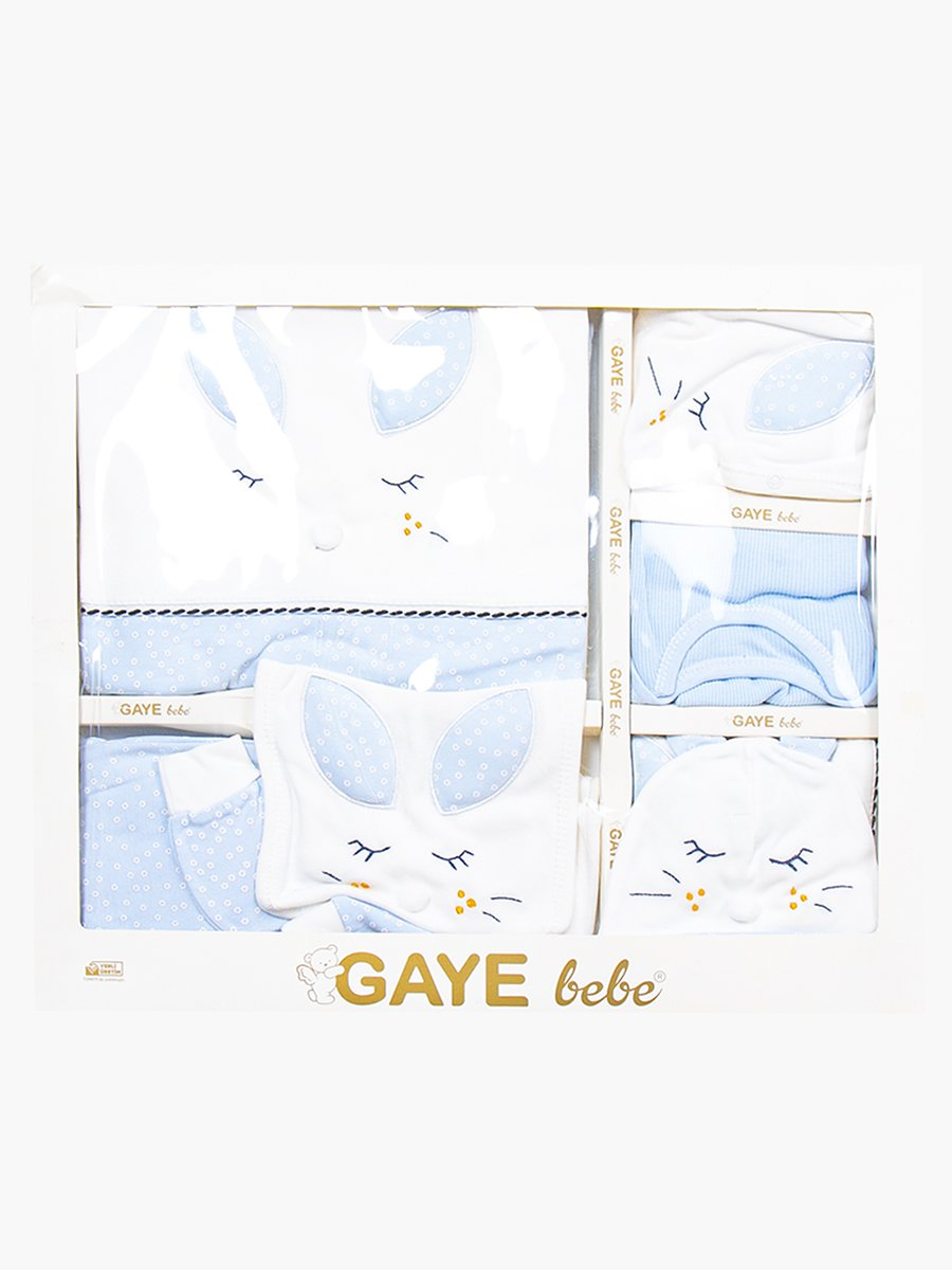 Набор в коробке для мальчика, цвет: голубой