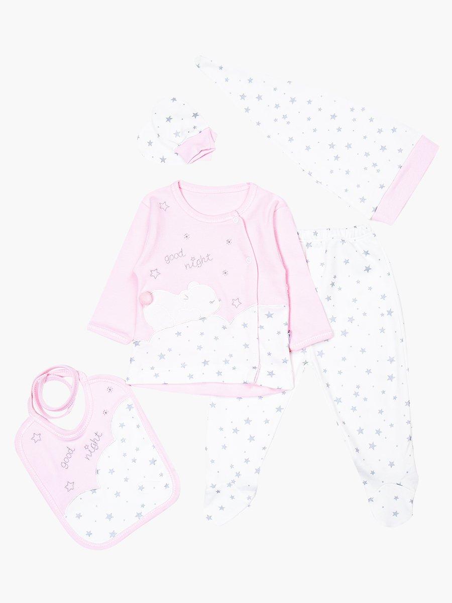 Набор в коробке детский, цвет: светло-розовый