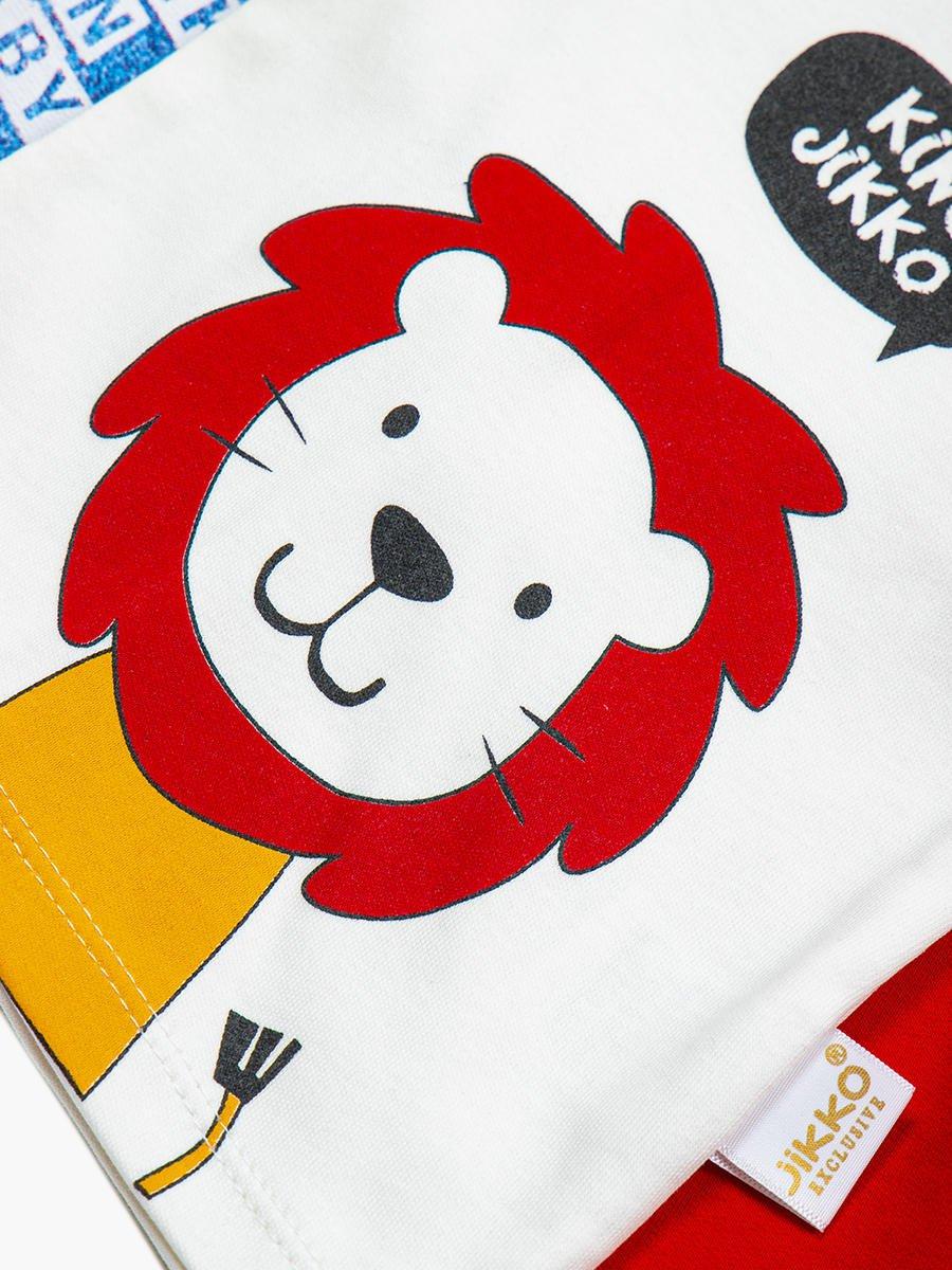 Комплект для мальчика: кофточка, штанишки и толстовка, цвет: красный
