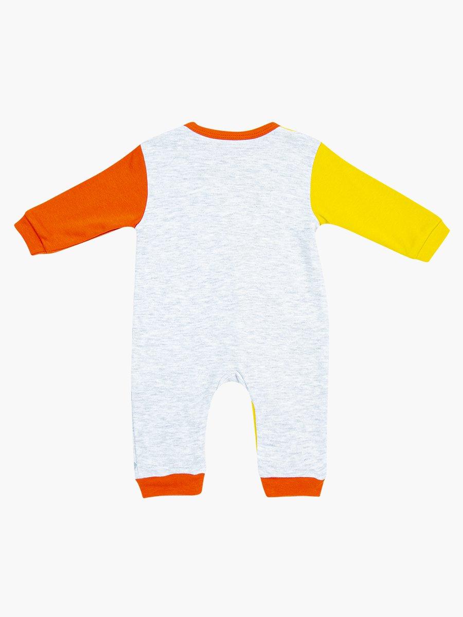 Комбинезон для мальчика, цвет: желтый