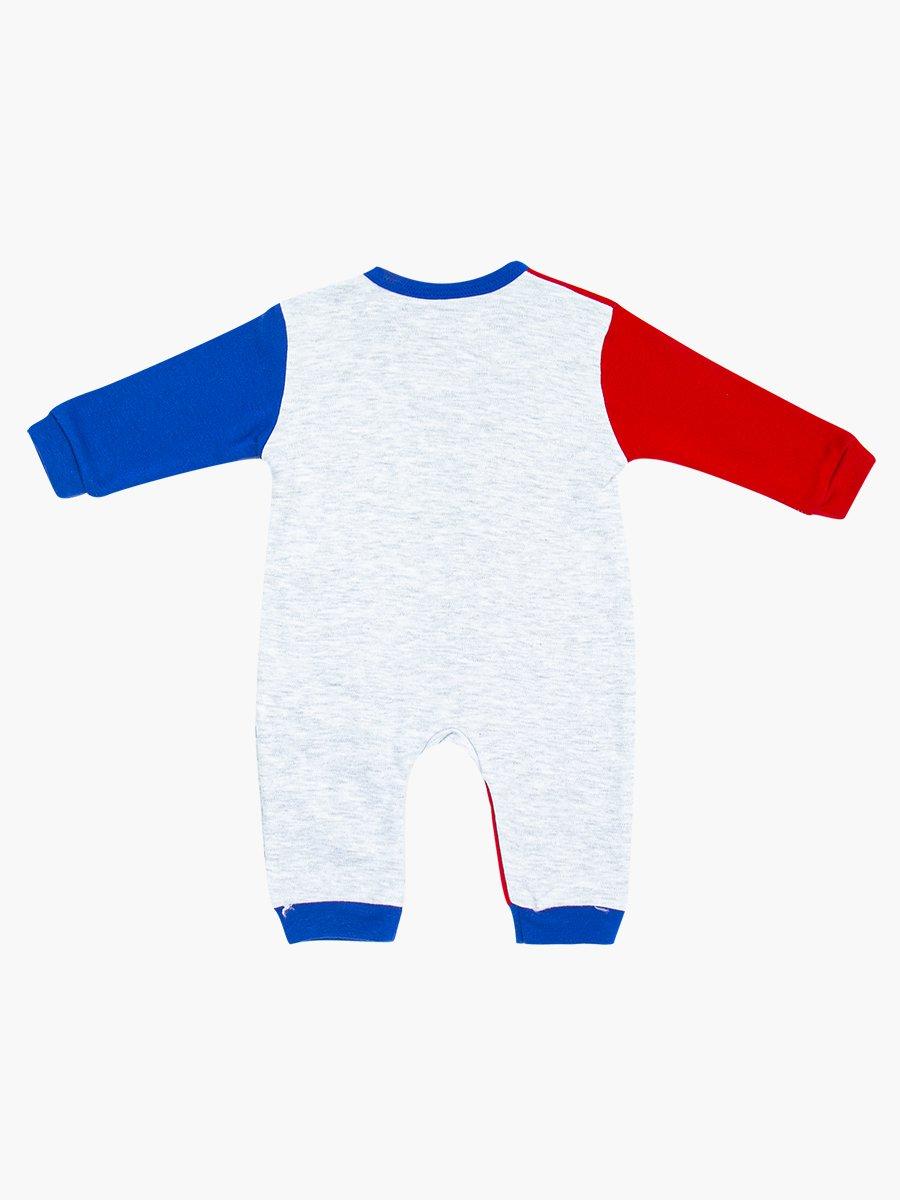Комбинезон для мальчика, цвет: бордовый