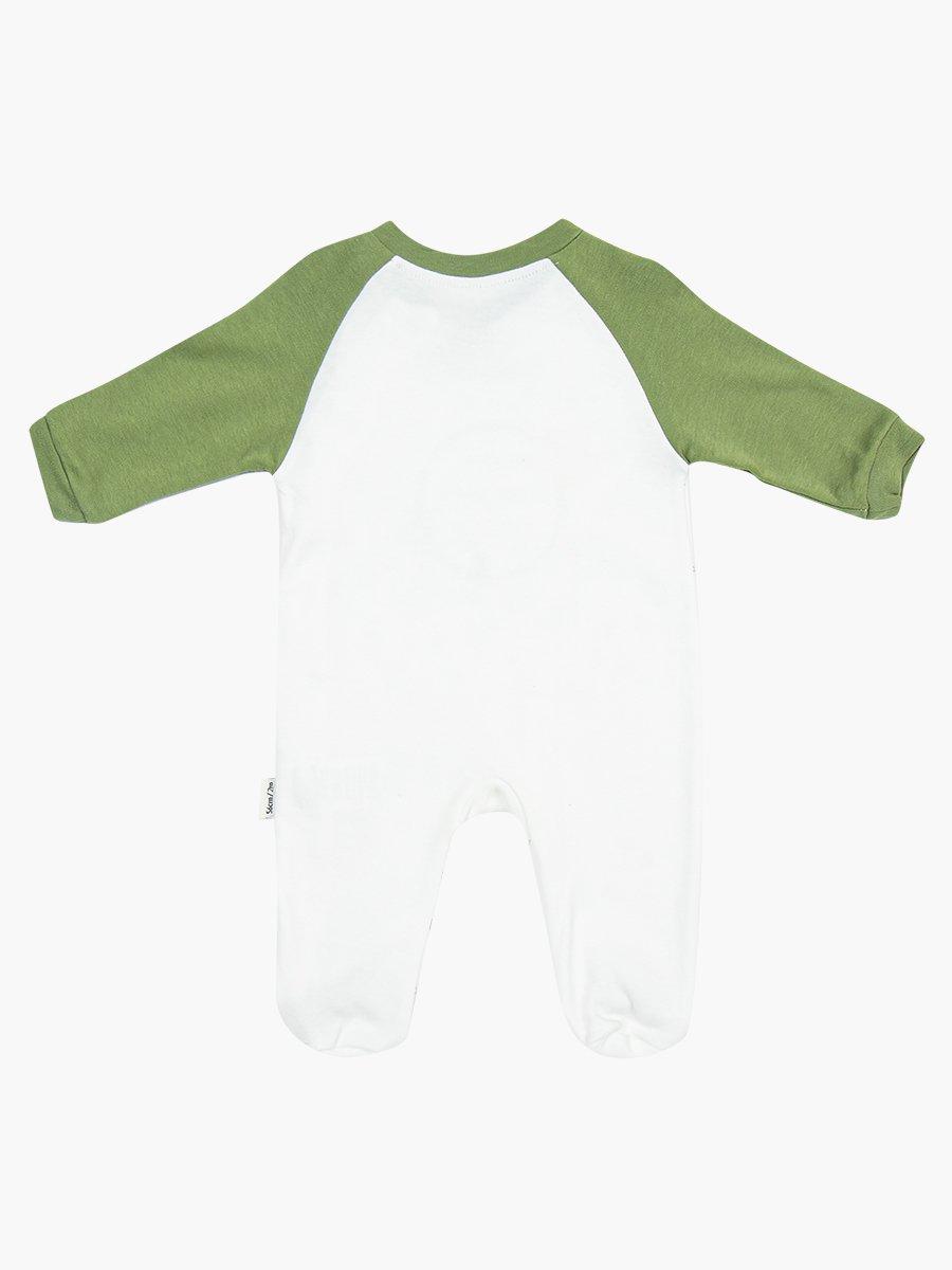 Комбинезон для мальчика, цвет: оливковый