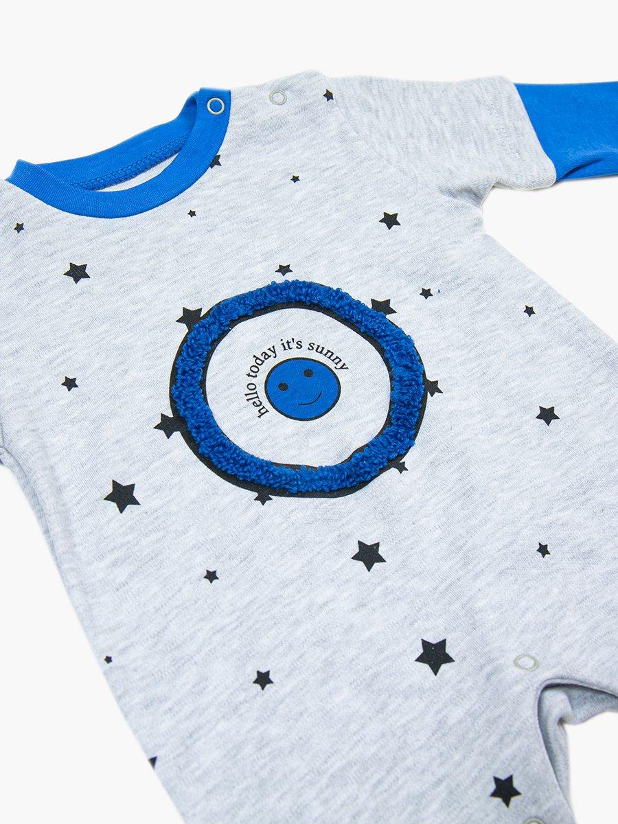 Комбинезон для мальчика, цвет: синий