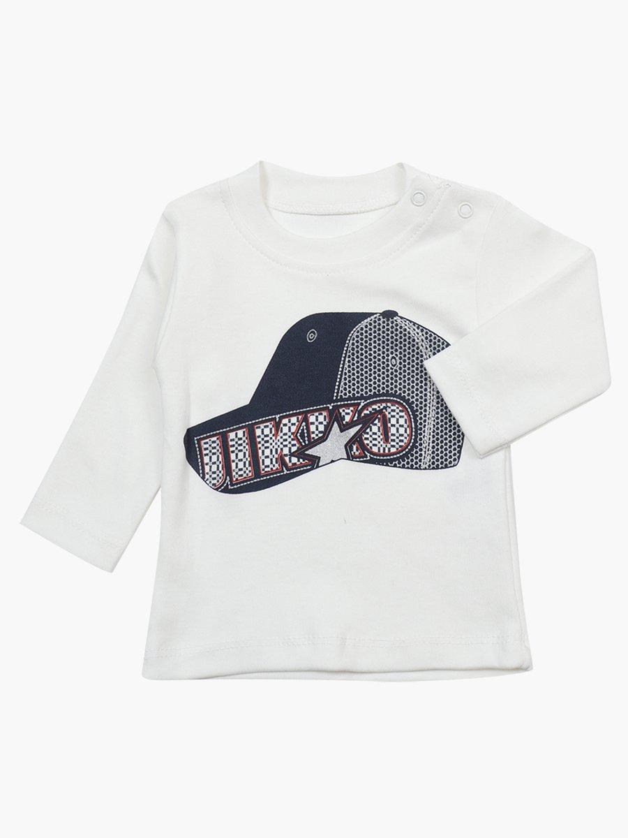 Комплект для мальчика: лонгслив, штанишки и толстовка
