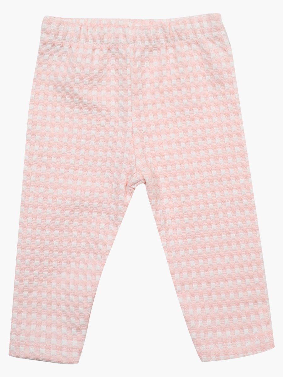 Комплект для девочки: лонгслив, штанишки и толстовка, цвет: пудра