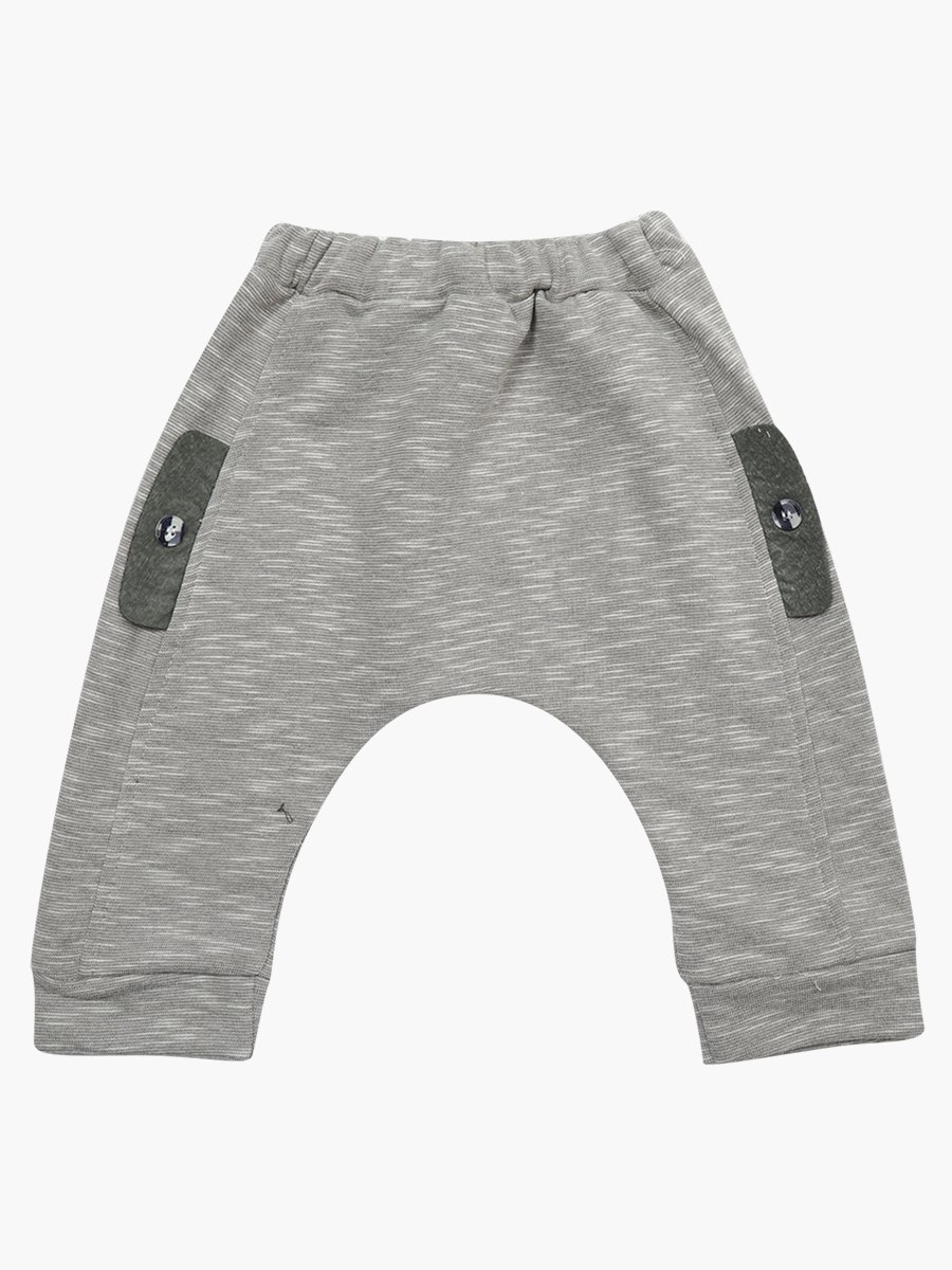 Комплект для мальчика: рубашка, штанишки и жилет на синтепоне, цвет: хаки