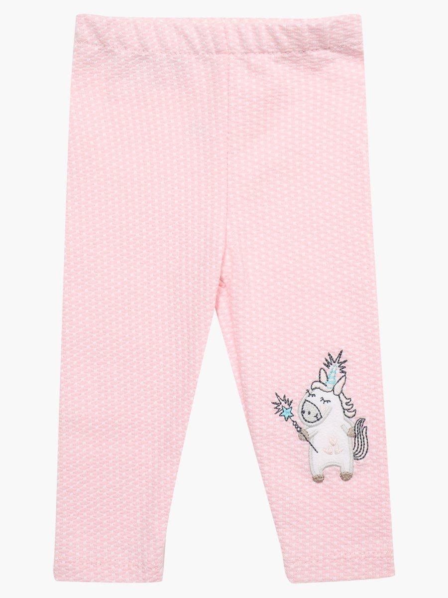 Комплект для девочки: лонгслив, штанишки и кофточка, цвет: светло-розовый
