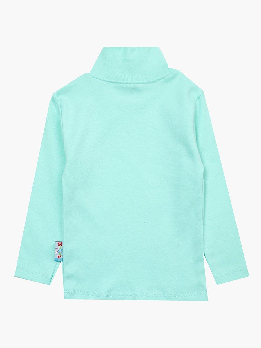 Водолазка для девочки, цвет: мятный