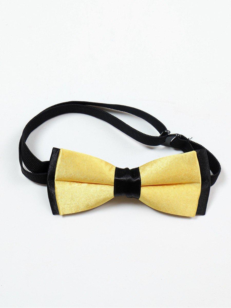 Бабочка для мальчика, цвет: желтый