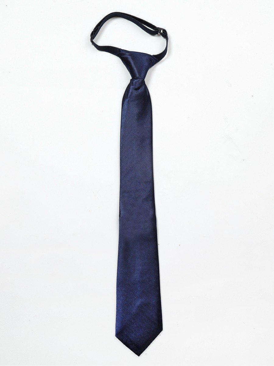 Галстук для мальчика, цвет: темно-синий