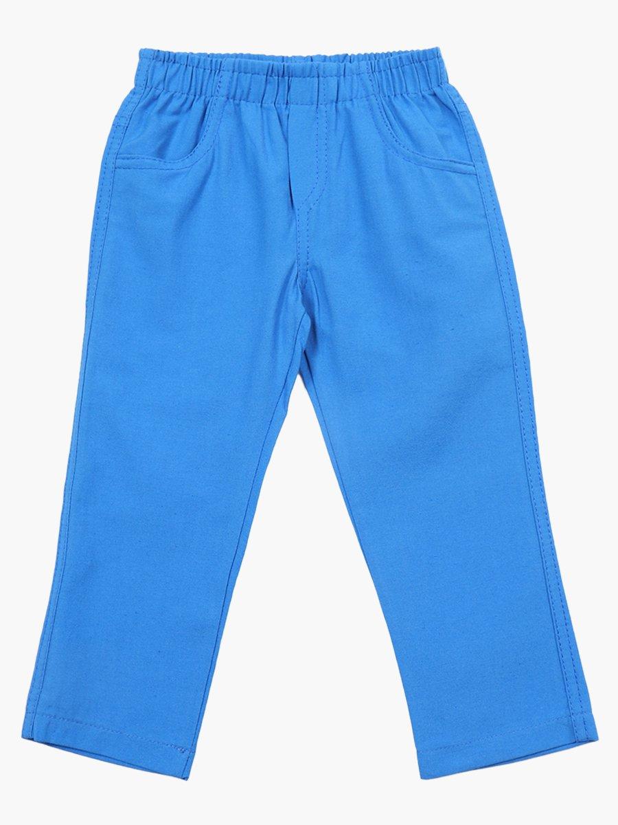 Комплект для мальчика: рубашка с бабочкой и брюки, цвет: голубой