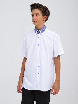 Сорочка приталенного силуэта подростковая