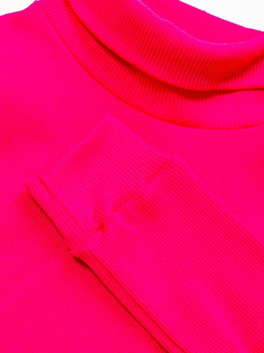 Водолазка детская, цвет: фуксия