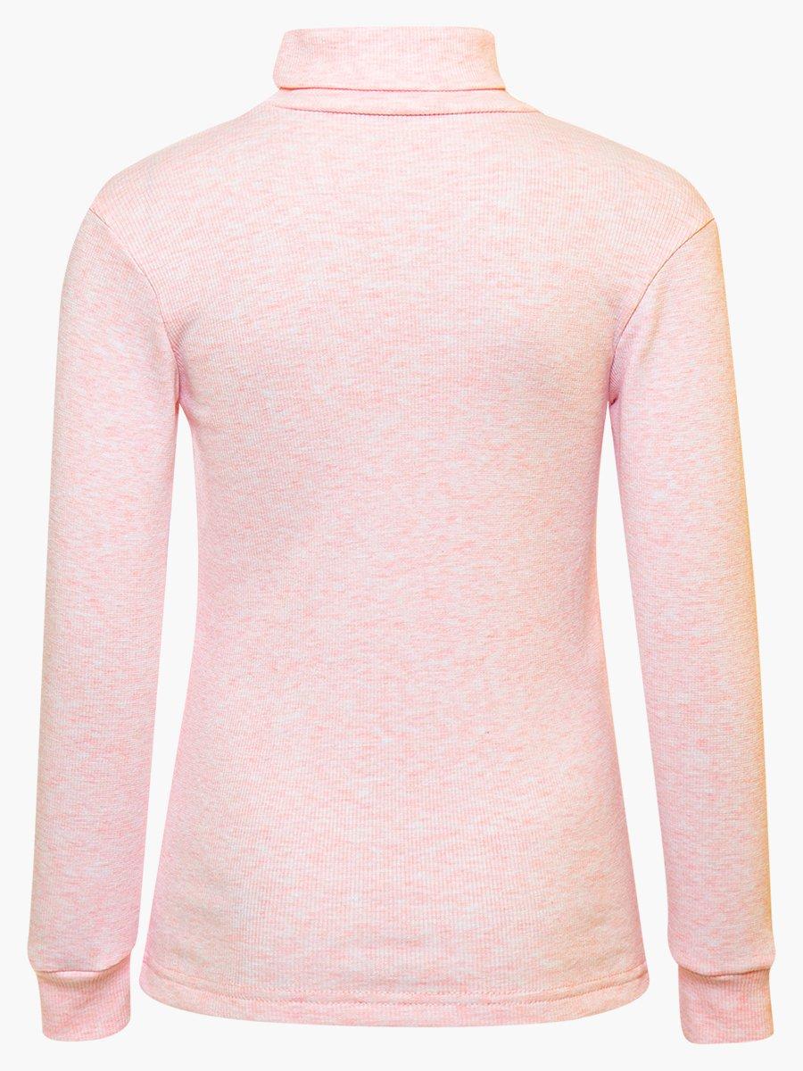 Водолазка детская, цвет: светло-розовый