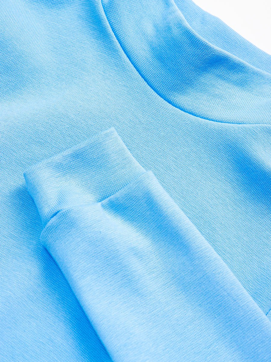 Водолазка детская, цвет: голубой