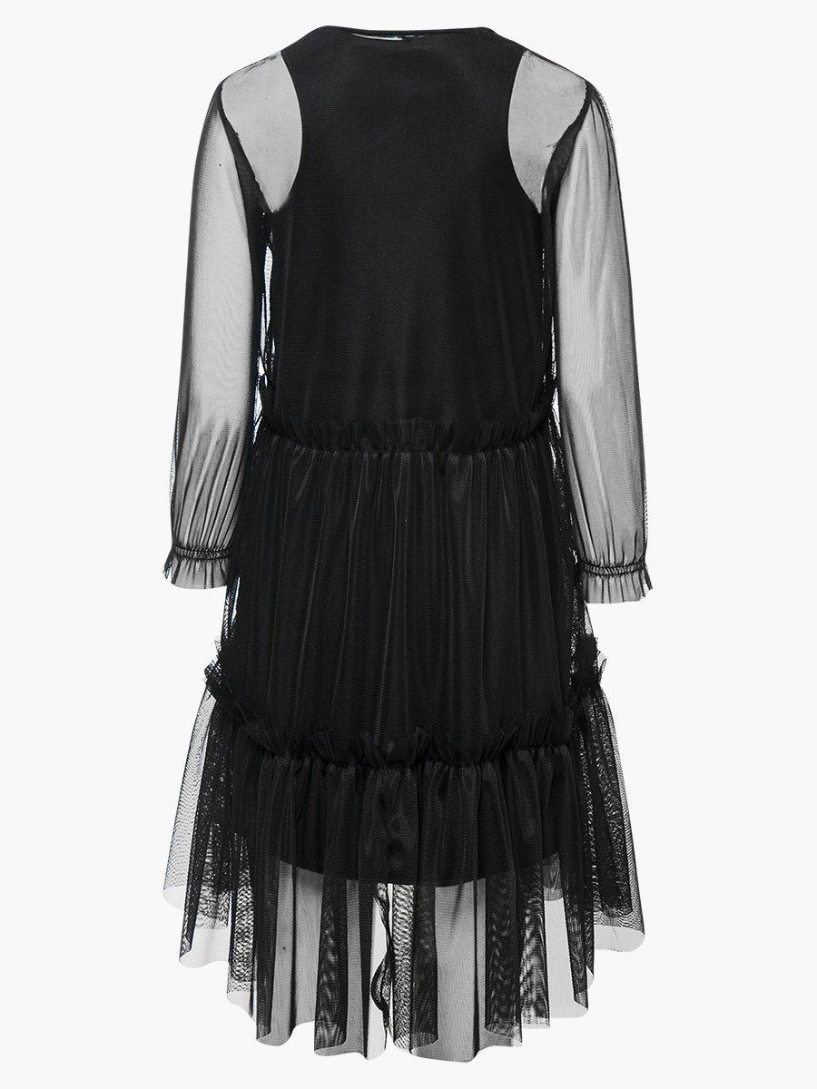 Комплект: из двух платьев, цвет: бронзовый,черный