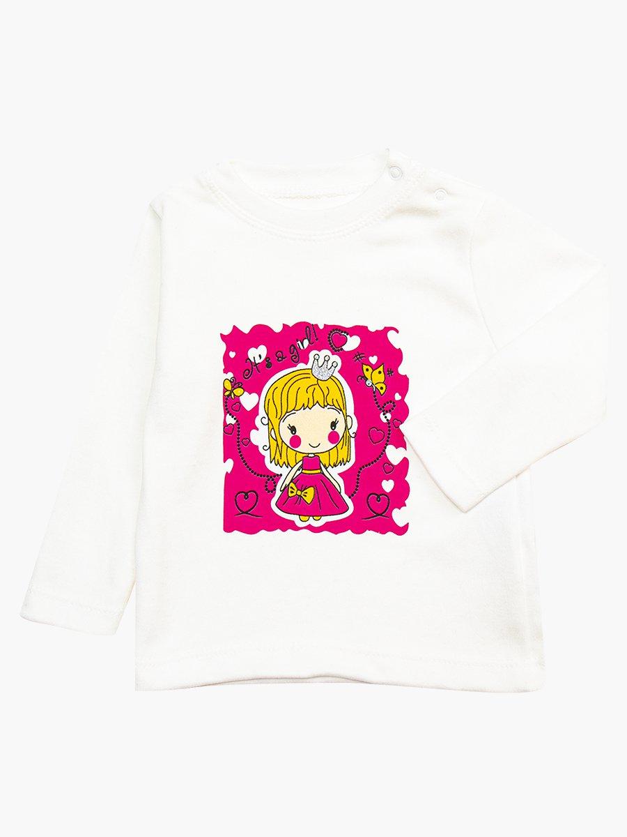 Комплект для девочки: кофточка, штанишки и жилет утепленный, цвет: малиновый