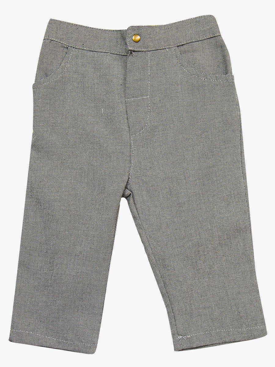 Комплект для мальчика: брюки, кофточка и и кардиган с ворсом, цвет: серый