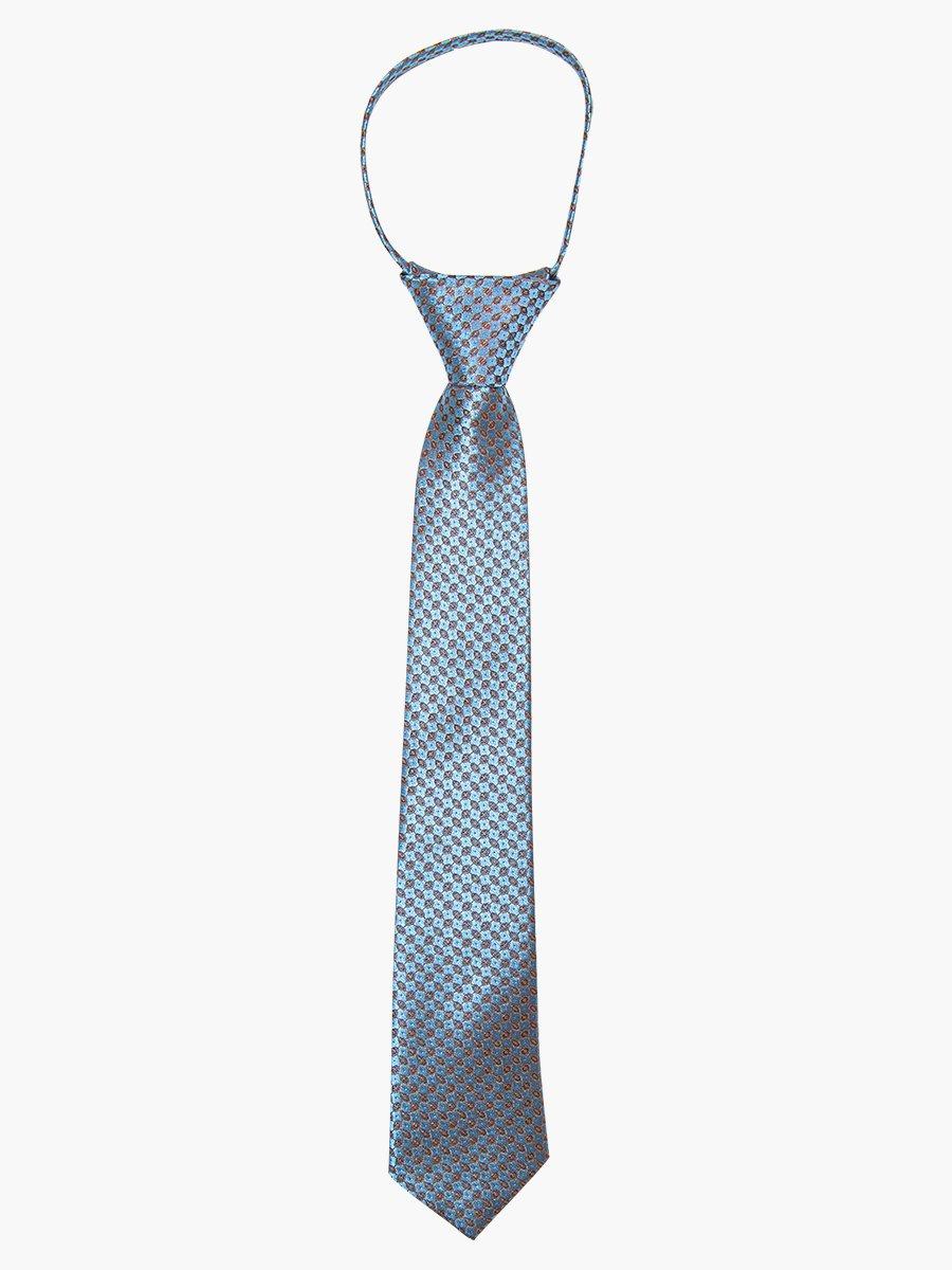 Галстук на клипсе для мальчика, цвет: серый