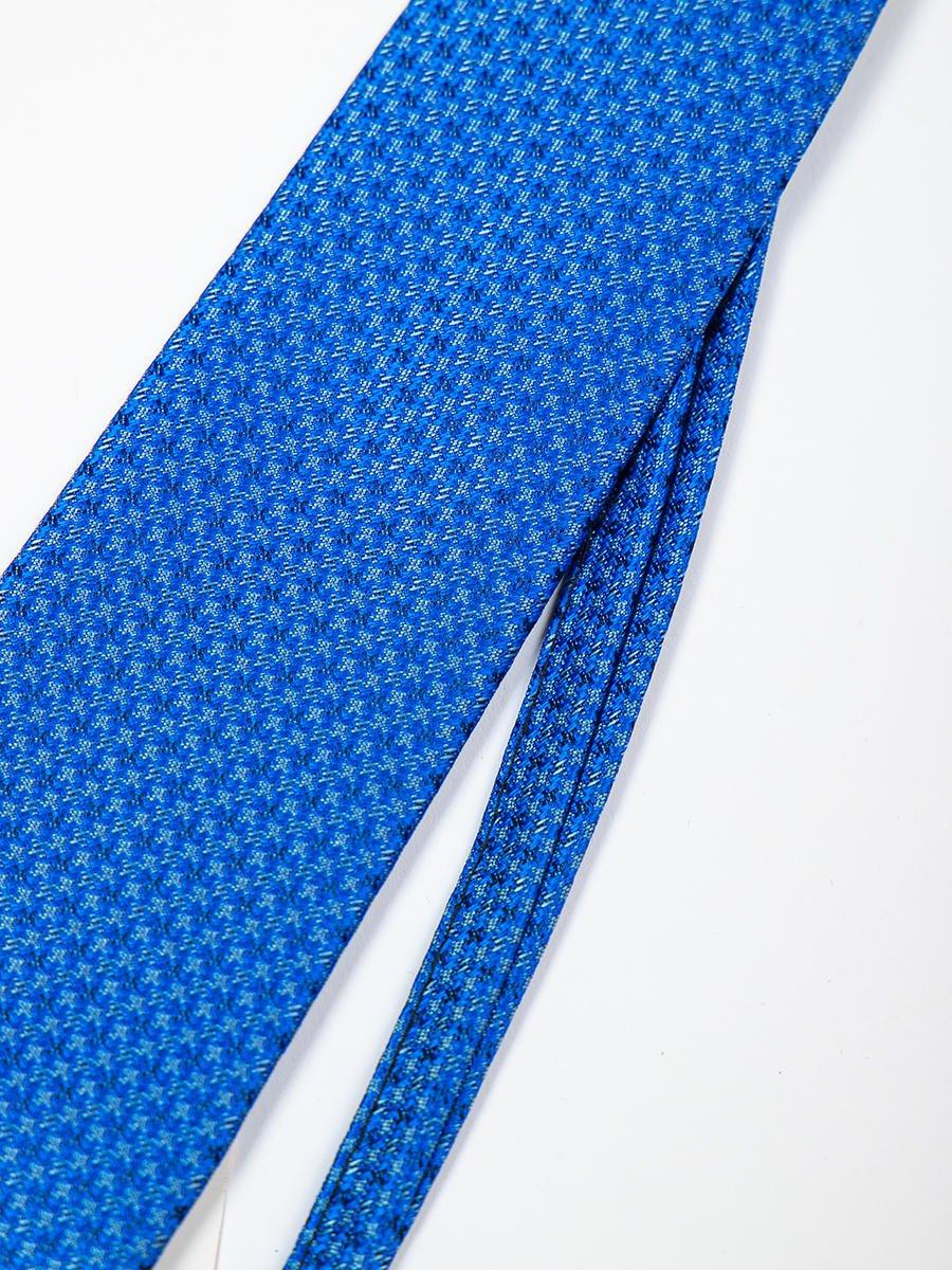Галстук на клипсе для мальчика, цвет: синий