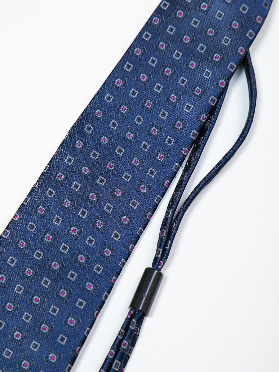 Галстук на клипсе для мальчика, цвет: темно-синий