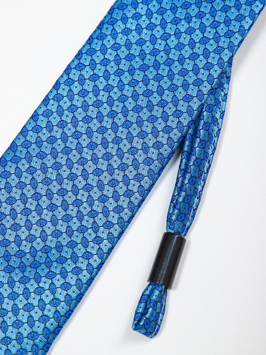 Галстук на клипсе для мальчика, цвет: голубой