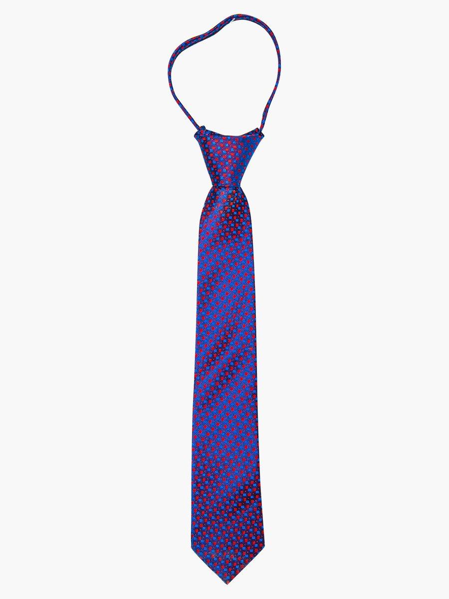 Галстук на клипсе для мальчика, цвет: фиолетовый