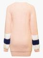 Джемпер вязаный для девочки, цвет: светло-розовый