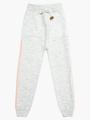 Комплект вязаный для девочки: джемпер и рейтузы, цвет: светло-серый
