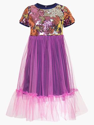 Платье приталенное с пышной юбкой
